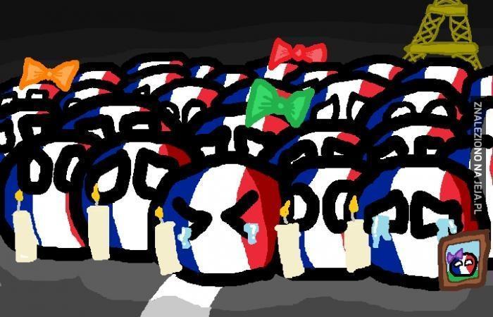 Jesteśmy z wami, Francuzi...