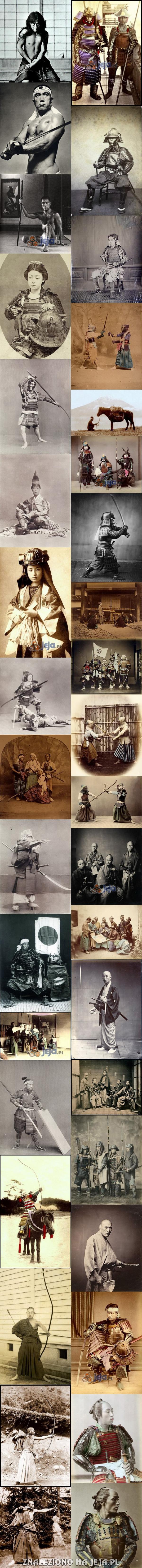Jak wyglądali prawdziwi samuraje