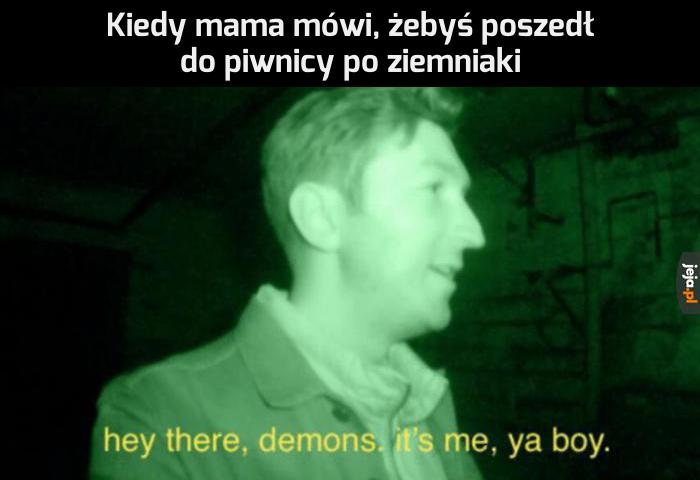 Siema, demonie, będziemy robić frytki