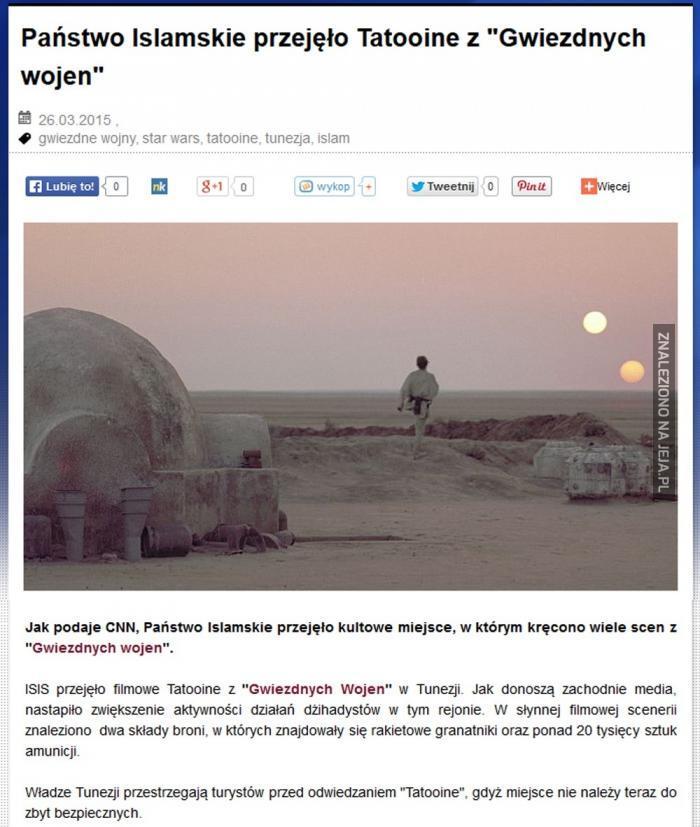 Tatooine przejęte!
