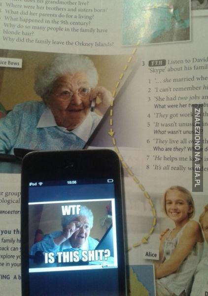 Babciu, to ty?
