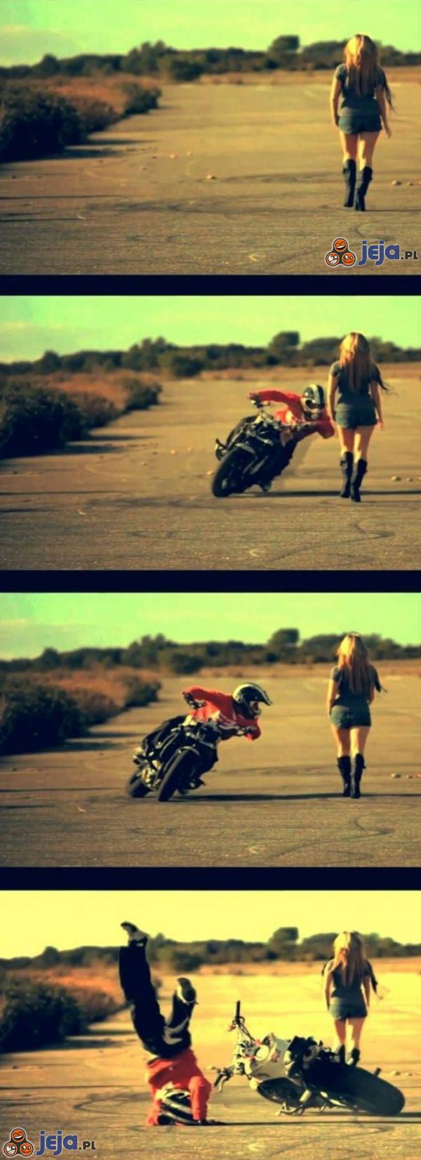 Na motocyklistów czyha wiele niebezpieczeństw