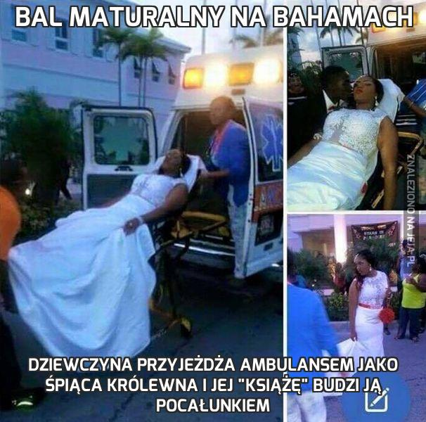 Bal maturalny na Bahamach