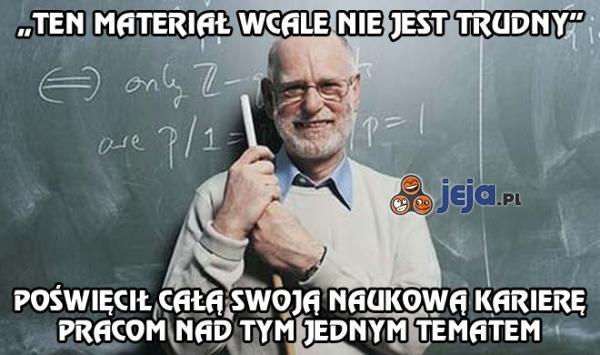Profesor-sk***iel: na każdej uczelni