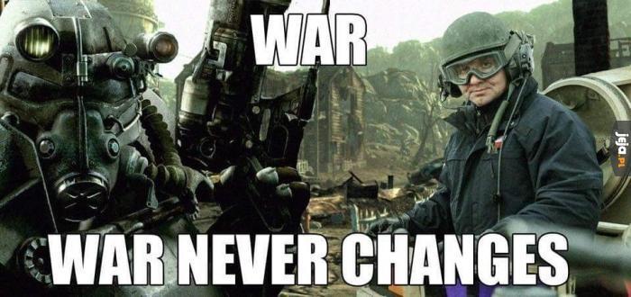 Wojna zawsze taka sama