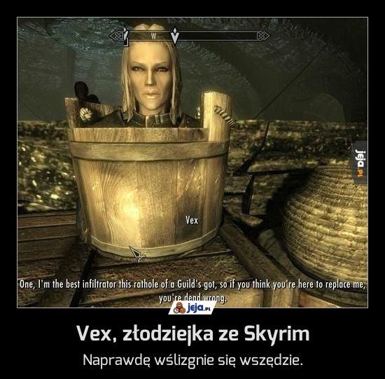 Vex, złodziejka ze Skyrim