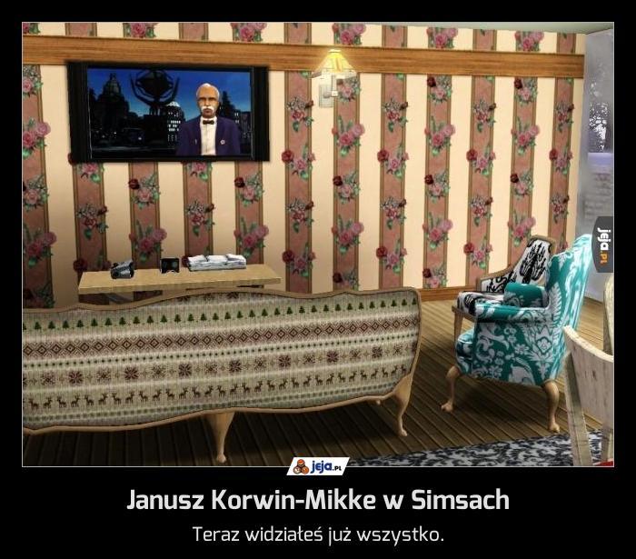 Janusz Korwin-Mikke w Simsach
