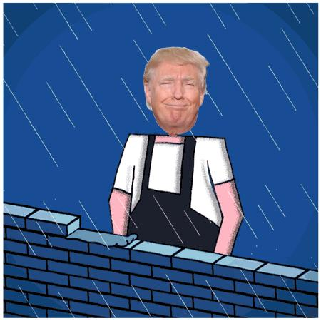 Trump w swoim żywiole