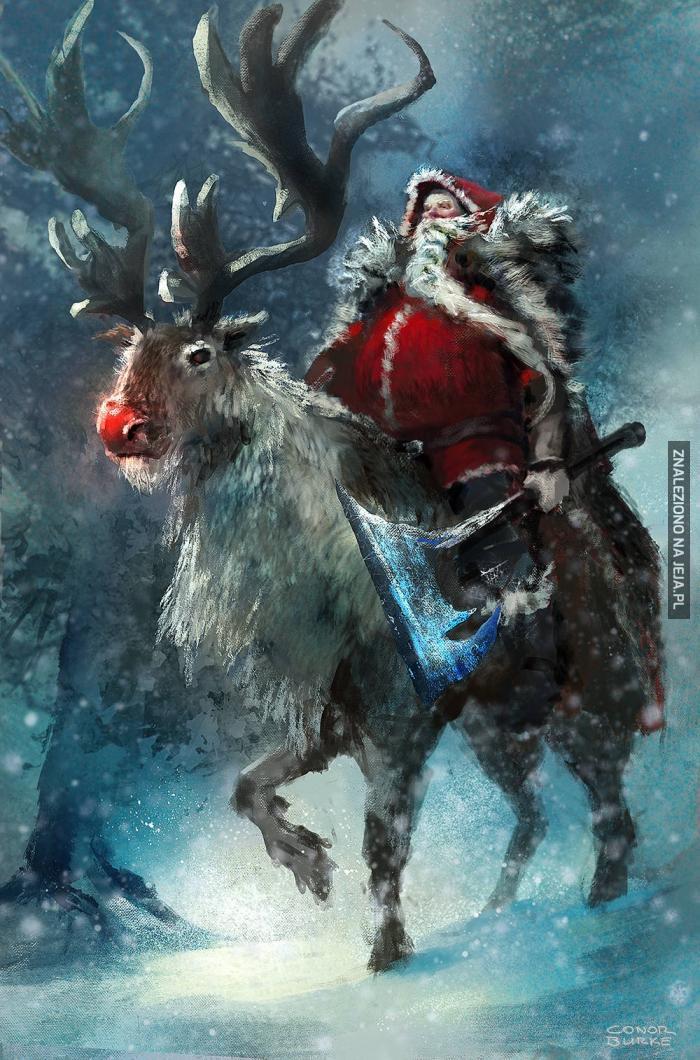 Mikołaj już jedzie do niegrzecznych dzieci