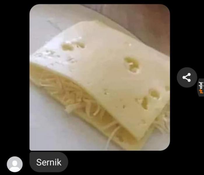 Serniczek to najlepsze ciasto