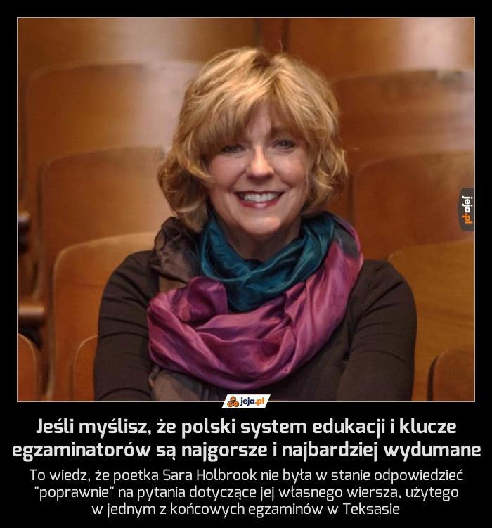 Jeśli myślisz, że polski system edukacji i klucze egzaminatorów są najgorsze i najbardziej wydumane