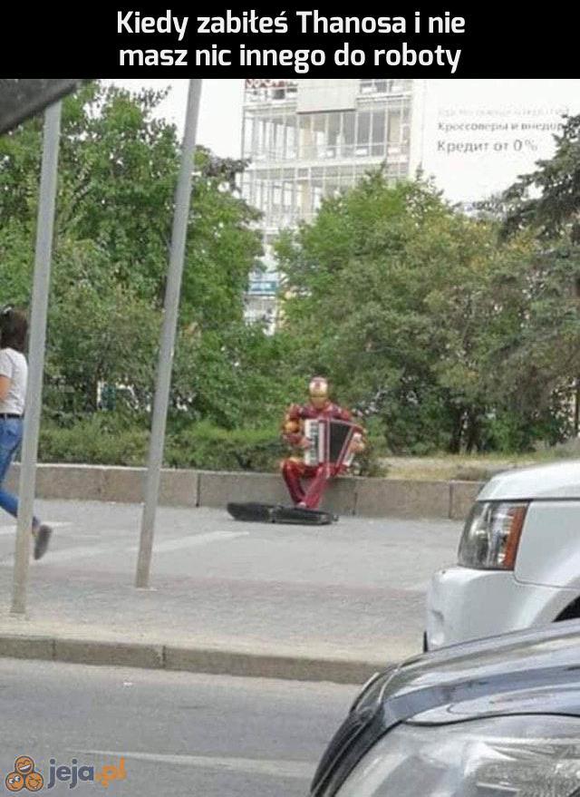 Iron Man po godzinach