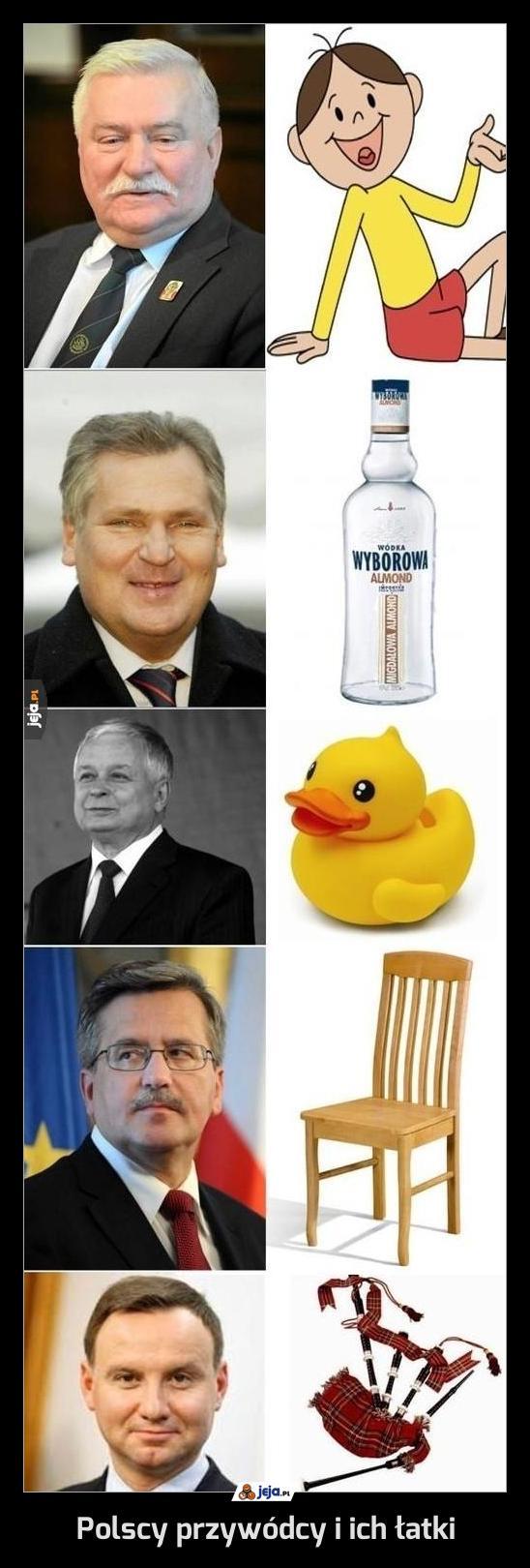 Polscy przywódcy i ich łatki