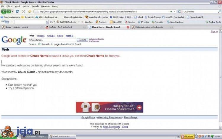 Google: Chuck Norris