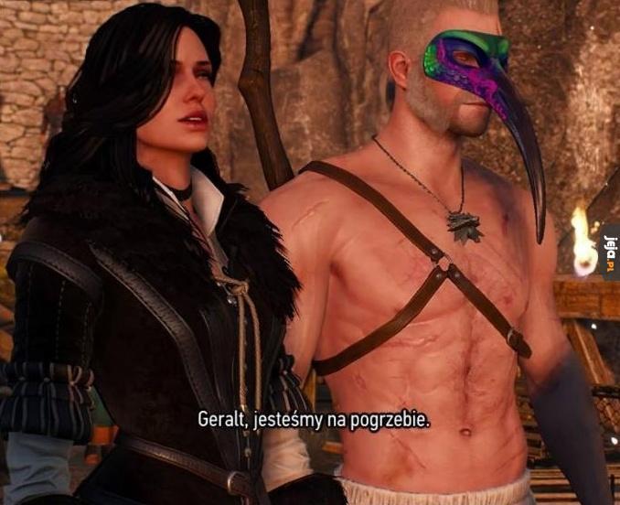 Geralt, przegiąłeś...
