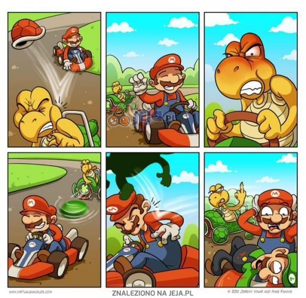 Zemsta w Mario Kart
