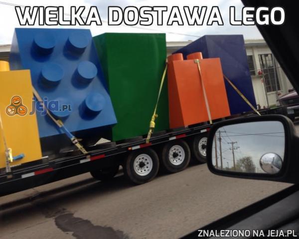 Wielka dostawa Lego
