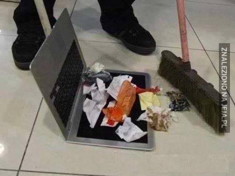 Ciekawe zastosowanie laptopa
