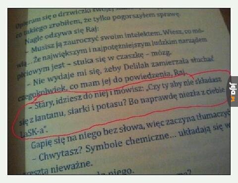 Podryw na chemika