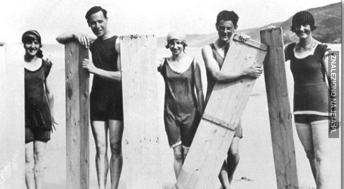 Surferzy z 1922r.