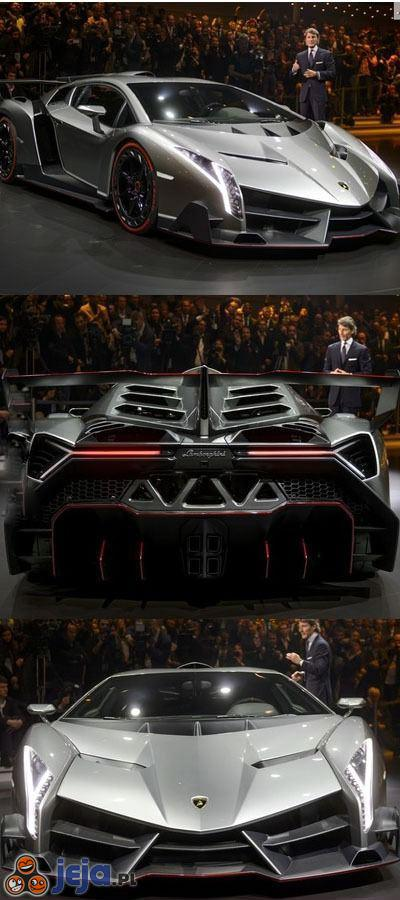 Lamborghini Veneno - tylko 3 sztuki na całym świecie
