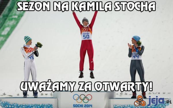 Sezon na Kamila Stocha!