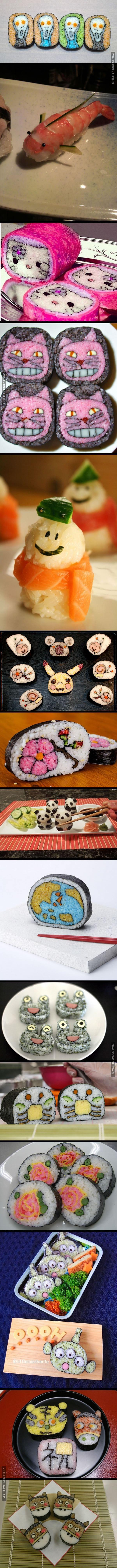 Sztuka sushi