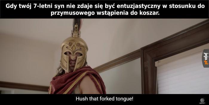Spartańskie wychowanie