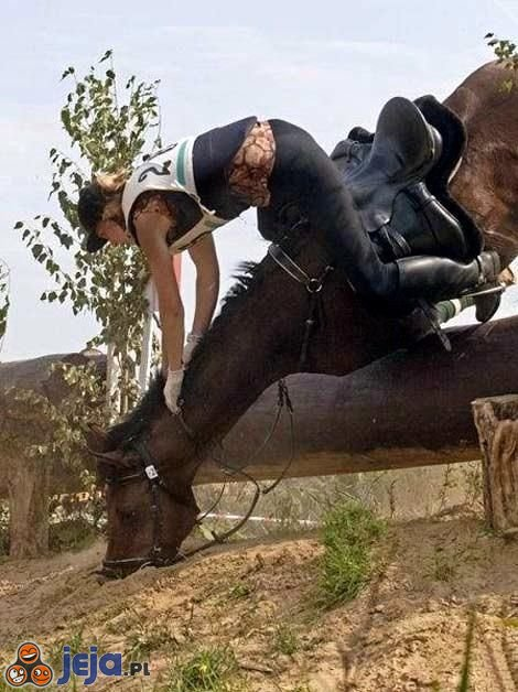 Upadek na koniu
