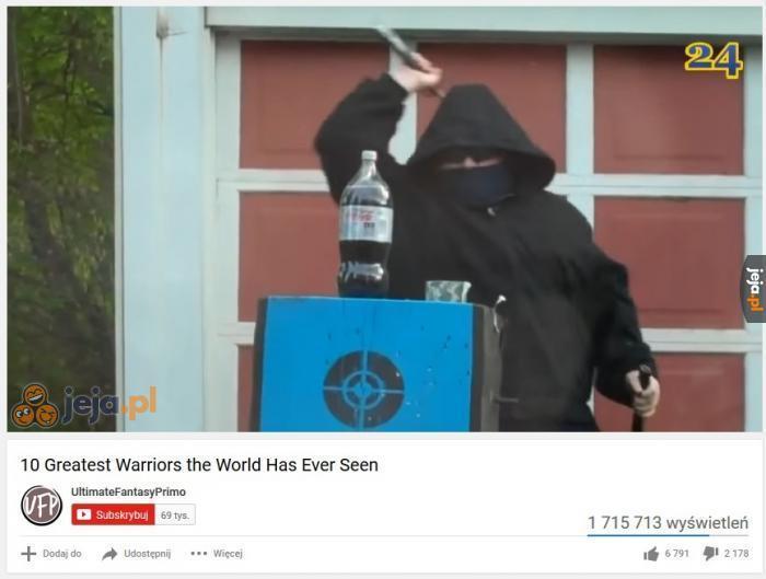 Najwięksi wojownicy jakich ujrzał ten świat