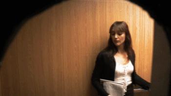 Żarcik w windzie