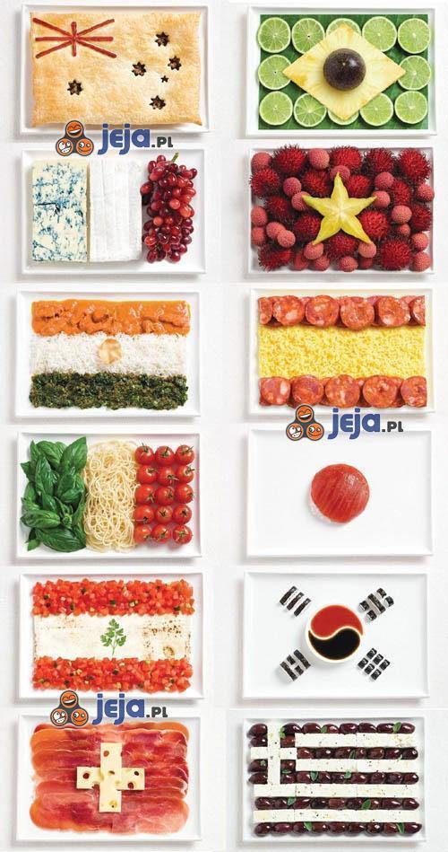 Międzynarodowy Festiwal Jedzenia - z czego byłaby flaga Polski?