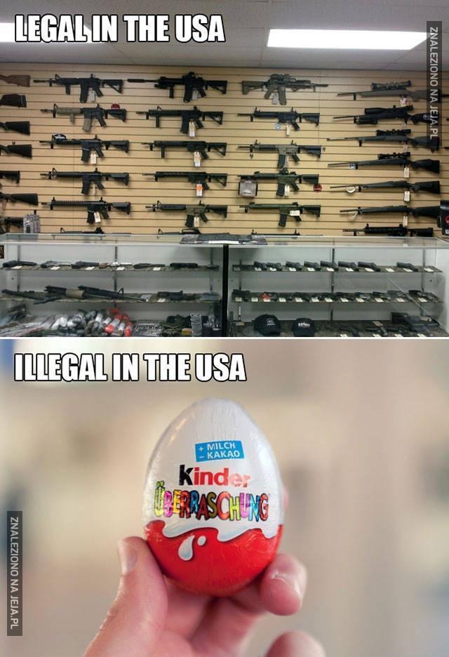 Logika w Stanach Zjednoczonych
