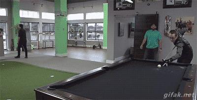To gramy w bilarda, czy w golfa?!