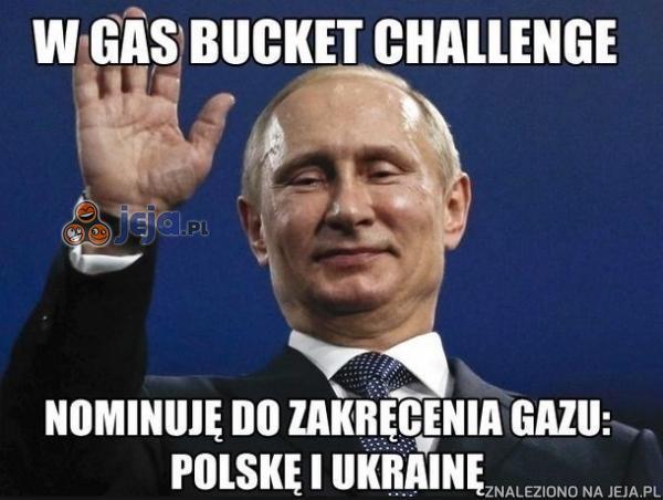 W gas bucket challenge