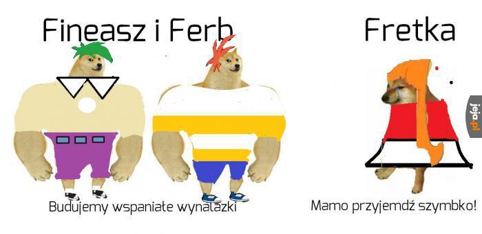 Fineasz i Ferb znowu hałasują