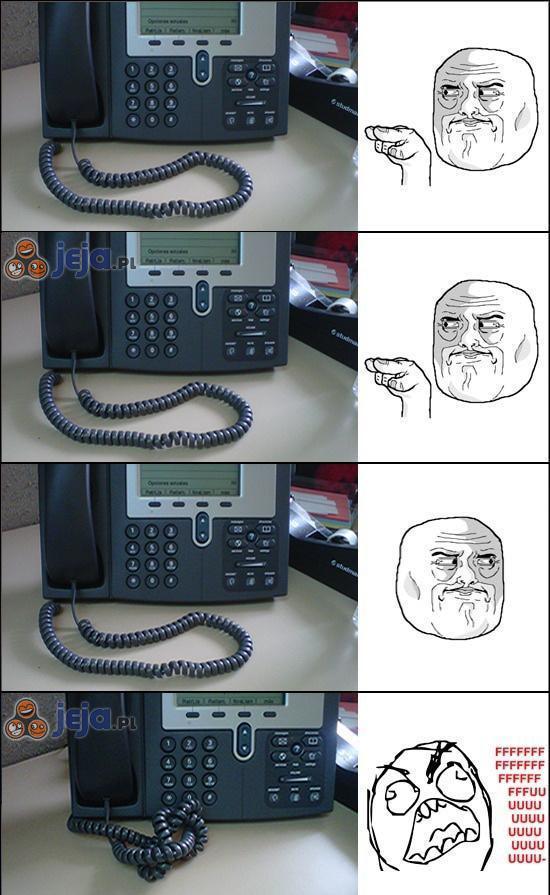 Kabel w telefonach stacjonarnych