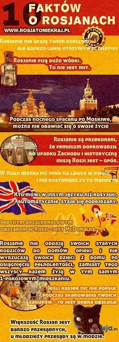 10 faktów o Rosjanach