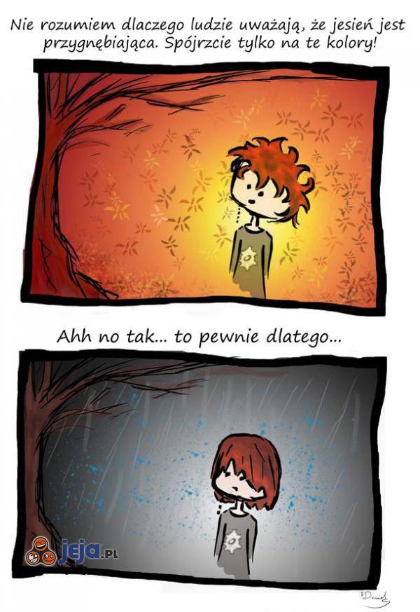 Jesienna depresja...
