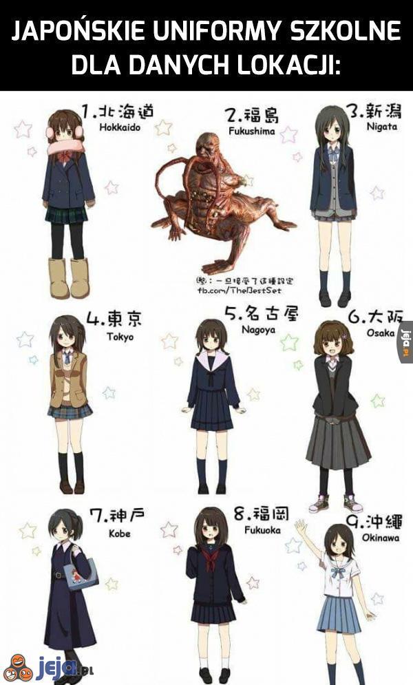 Japońskie mundurki