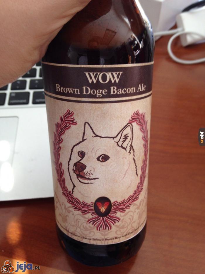 Wow, piesełowe piwo tak bardzo