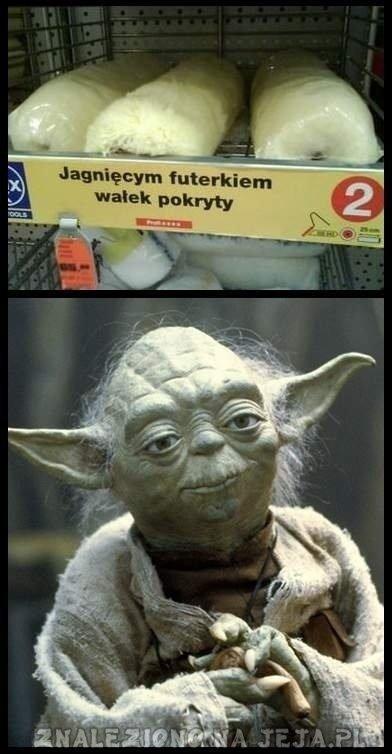 Mistrz Yoda wyczuwa