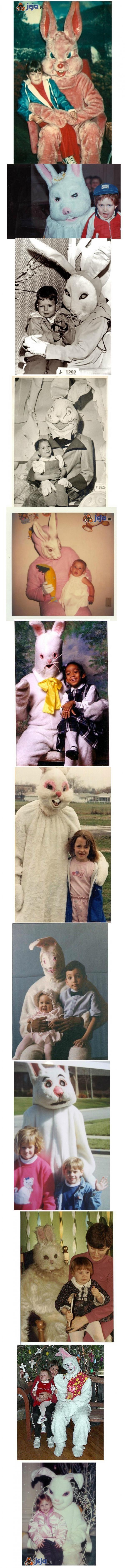 Straszne zające Wielkanocne