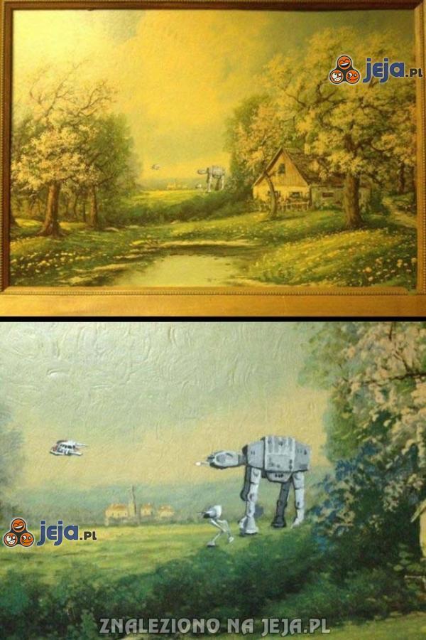 Obraz dla fanów Gwiezdnych Wojen