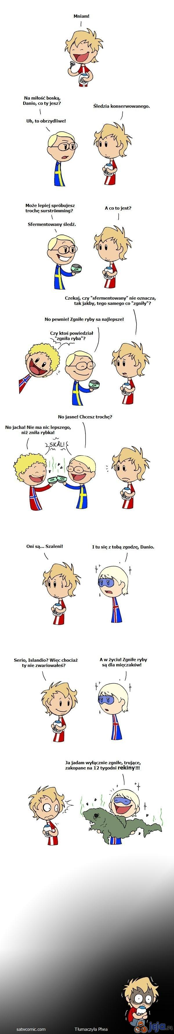 Skandynawskie kulinaria