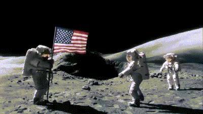 Pierwsze lądowanie na Księżycu (prawdziwa historia)