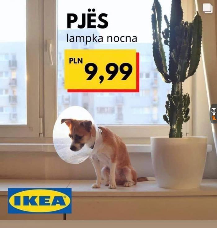 Najnowsza lampka w ofercie IKEA robi furorę