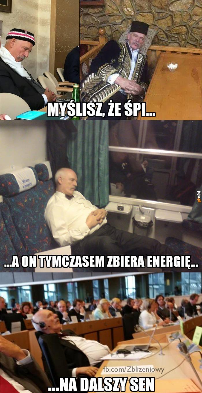 Zmienianie świata wymaga mnóstwa energii