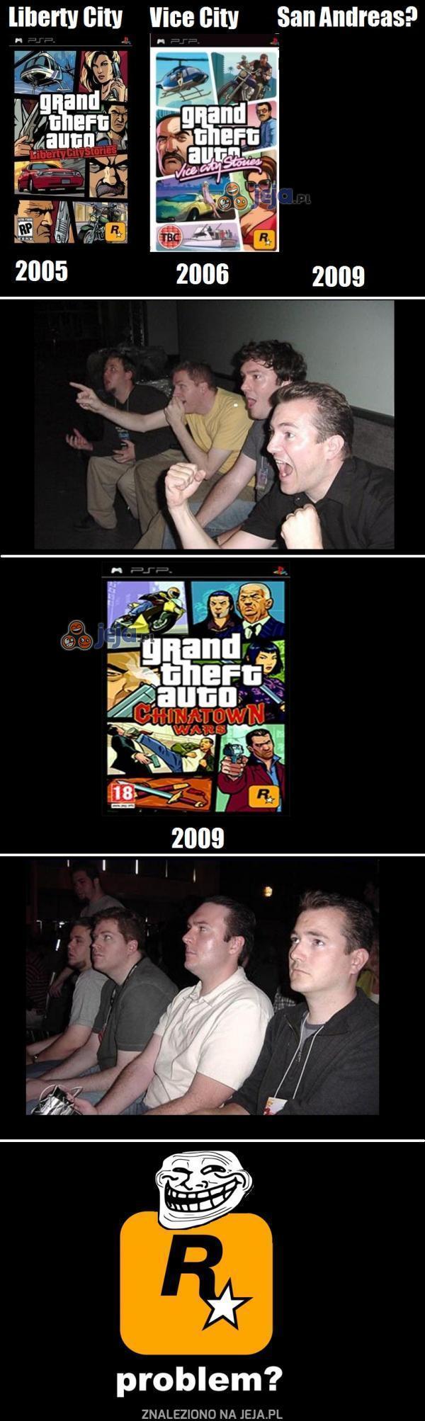 Rockstar... Czemu nam to zrobiłeś?