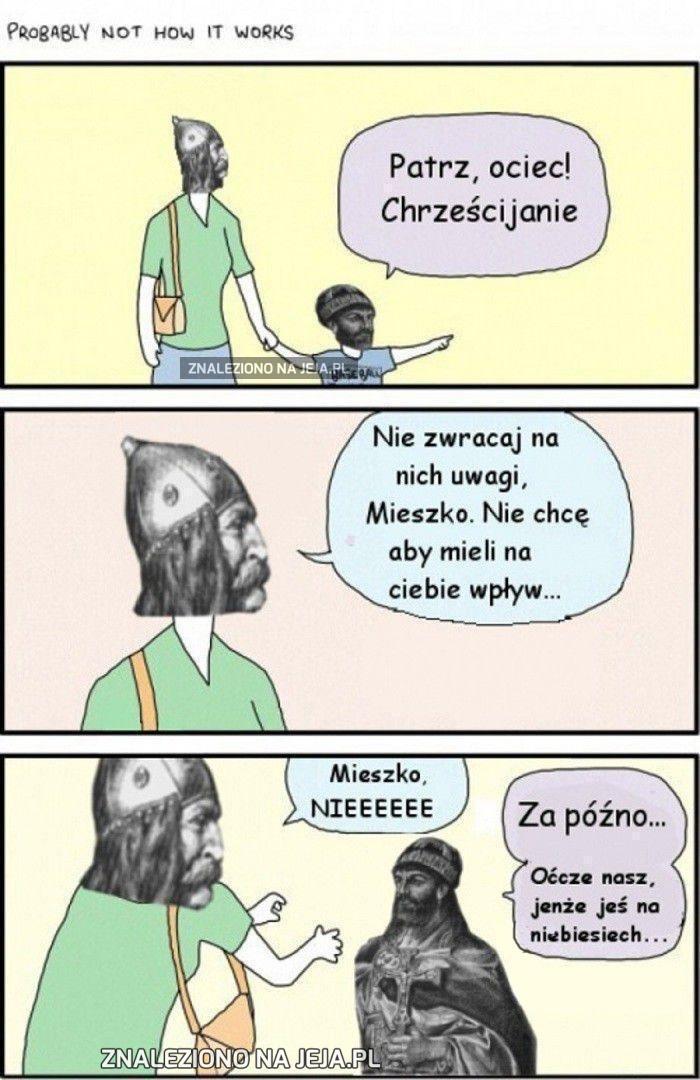 Mieszko I i chrzest Polski